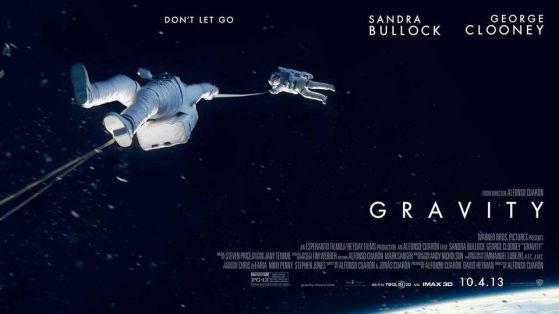 Warner Bros. Pictures / Alfonso Cuarón, of the poster for the movie Gravity.