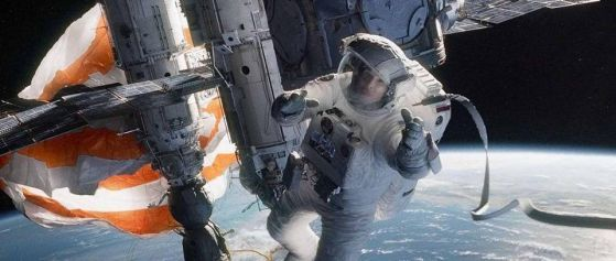 Image credit: Warner Bros. Pictures / Alfonso Cuarón, from the movie Gravity.
